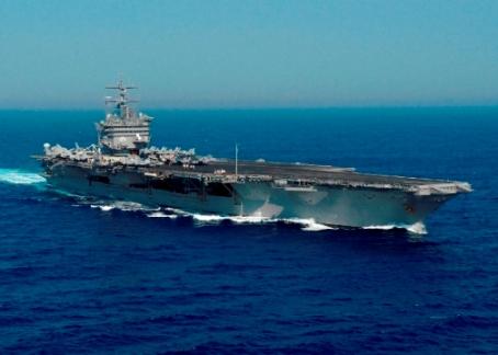 confronto tra portaerei Bush e PORTAEREI ENTERPRISE CVN 65