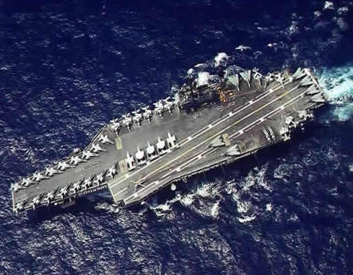 carrier USS Constellation cv64