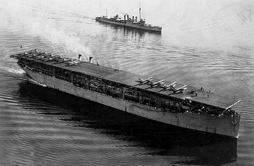 AIRCRAFT CARRIER LANGLEY (CV1)