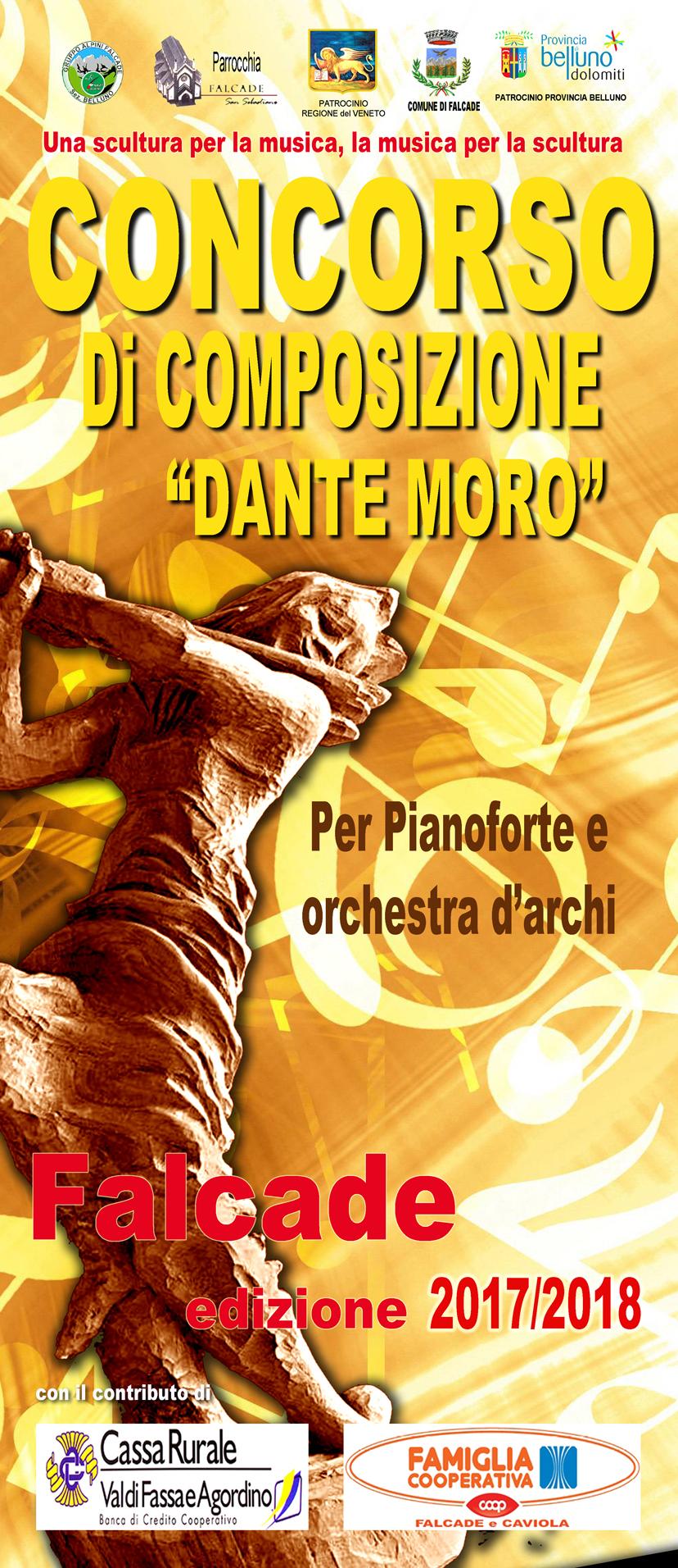 """Concorso internazionale di composizione """"Dante Moro"""""""