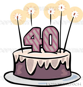 Mio compleanno 40 anni su come una gatta for Poste mobili 0 pensieri small