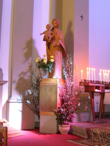La Madonna del Rosario dans immagini sacre