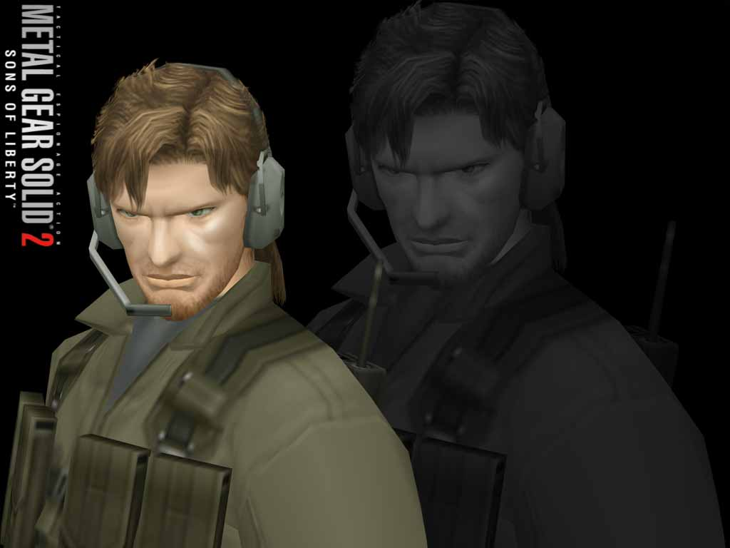 Anybody else play with the Young Snake mask on? - Metal Gear Solid 4