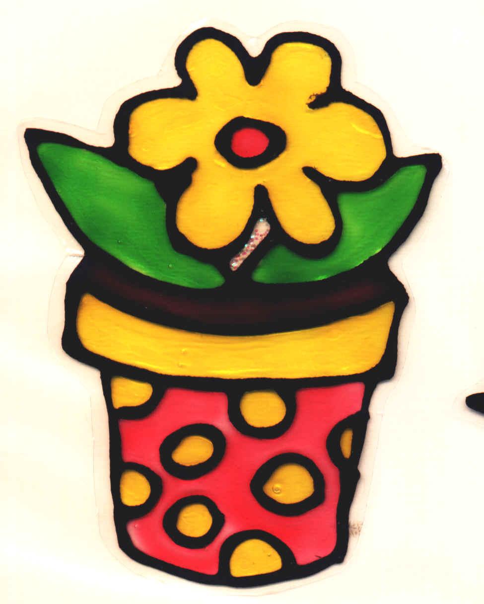 Window color for Vaso di fiori disegno