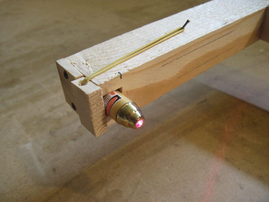 Puntatore laser per trapano for Dima per spine