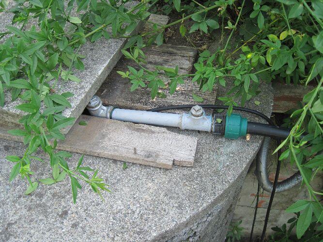 Valvola di rifiato per impianto di microirrigazione