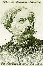 Paolo Emiliani-Giudici, Mussomeli