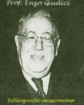 Professore Enzo Giudici, Mussomeli