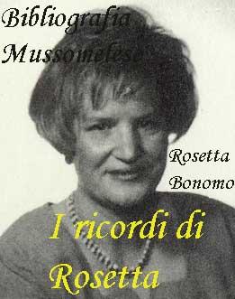 Rosetta Bonomo, Mussomeli, Caltanissetta, Sicilia