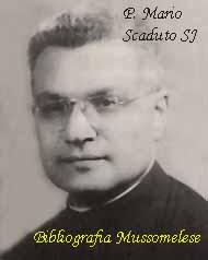 Padre Mario Scaduto SJ, Mussomeli