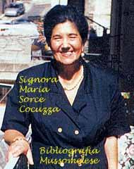 Sorce Cocuzza Maria, Mussomeli