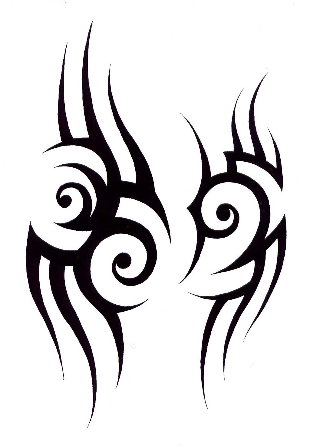 Native American Tribal Tattoos