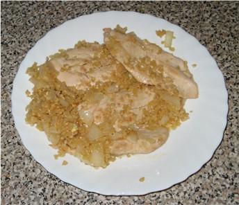pollo mandorle cipolle
