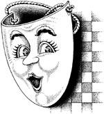 maschera allegra