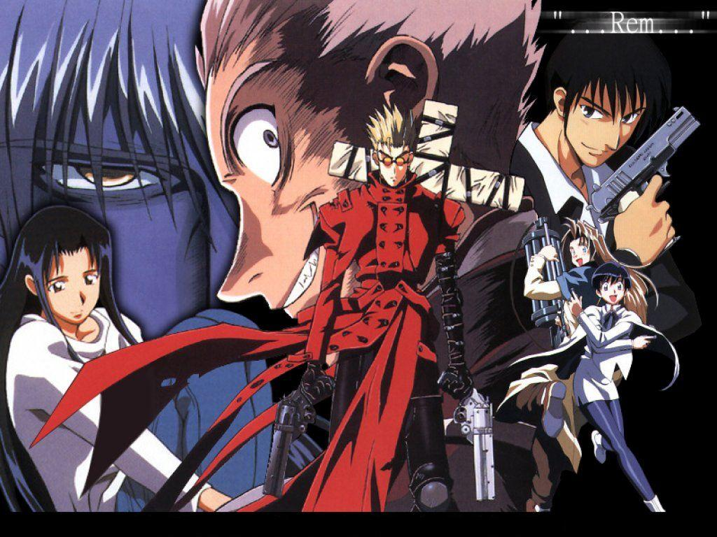 Anime Characters 2000 : Trigun anime review by mangalife planet
