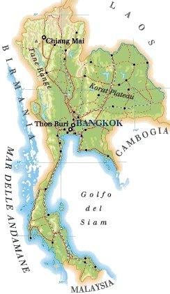Tra Vietnam E Thailandia Cartina Geografica.Nuova Pagina 0