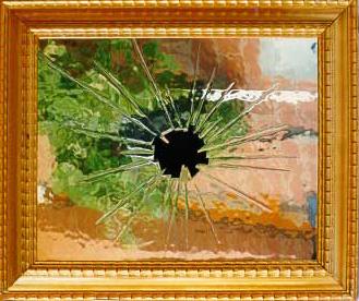 Opere attraversiste - Specchio rotto sfortuna ...