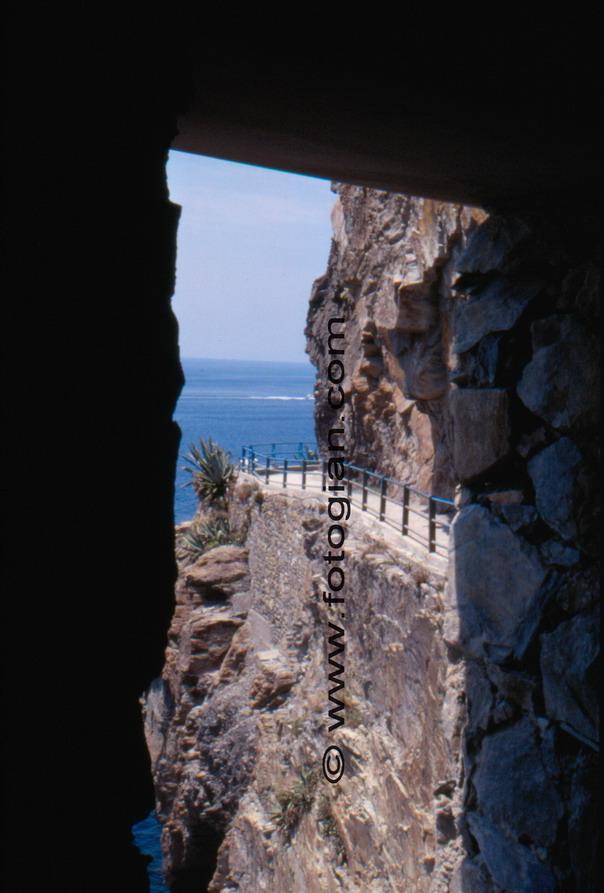 via dell'amore, cinque terre, liguria, italy, sea