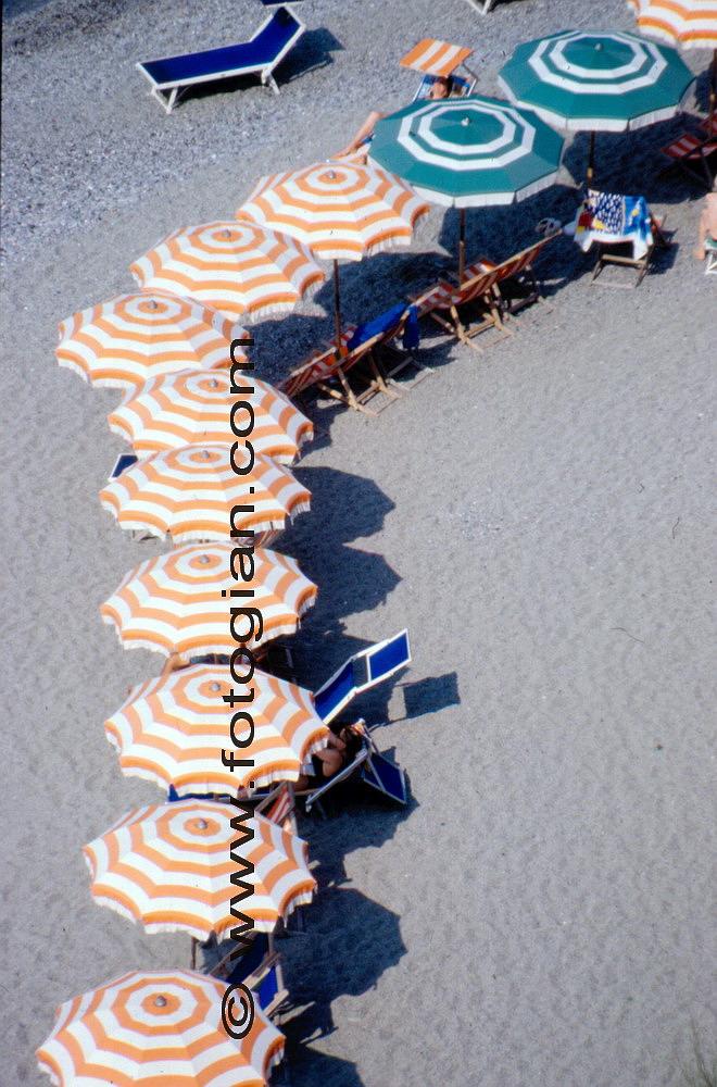 ombrelloni, monterosso
