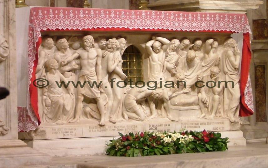 san lorenzo altare