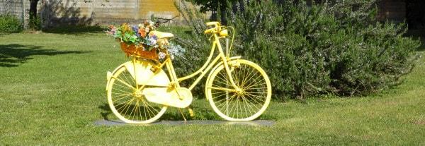 bici portafiori a Gaggio (Nibionno) (Lc)