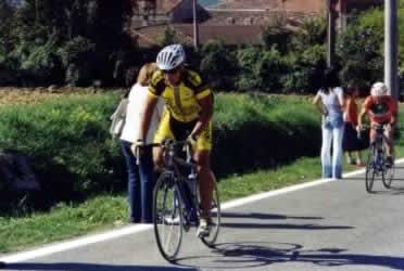 rampa finale a Castellania (AL)