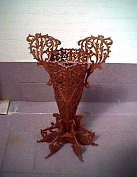 Arte del Traforo - Vaso per fiori