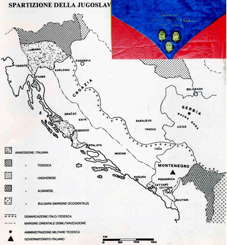 Dalmazia Italiana Cartina.Dalmazia Occupazione Italiana 1941