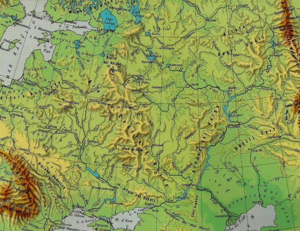 Cartina Fisica Della Russia Europea.Polonia Bielorussia Russia