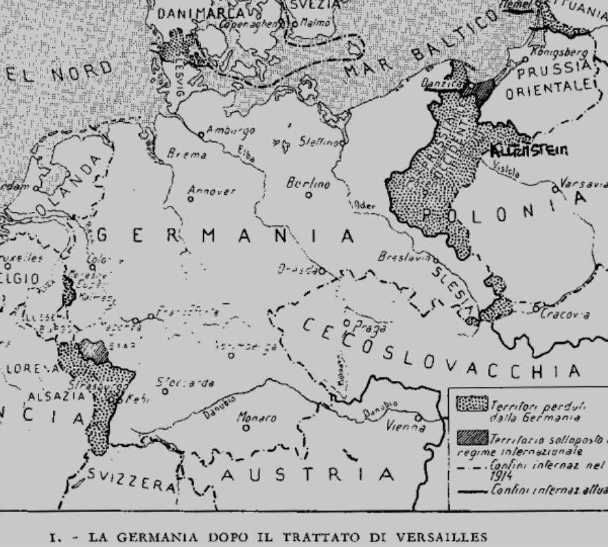 Cartina Europa 1938.La Spartizione Dell Europa I Difficili Confini