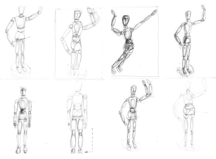 Figure Drawing Step by Step Lessons amp How to Draw People