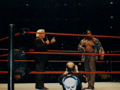 Booker T si confronta con Ric Flair