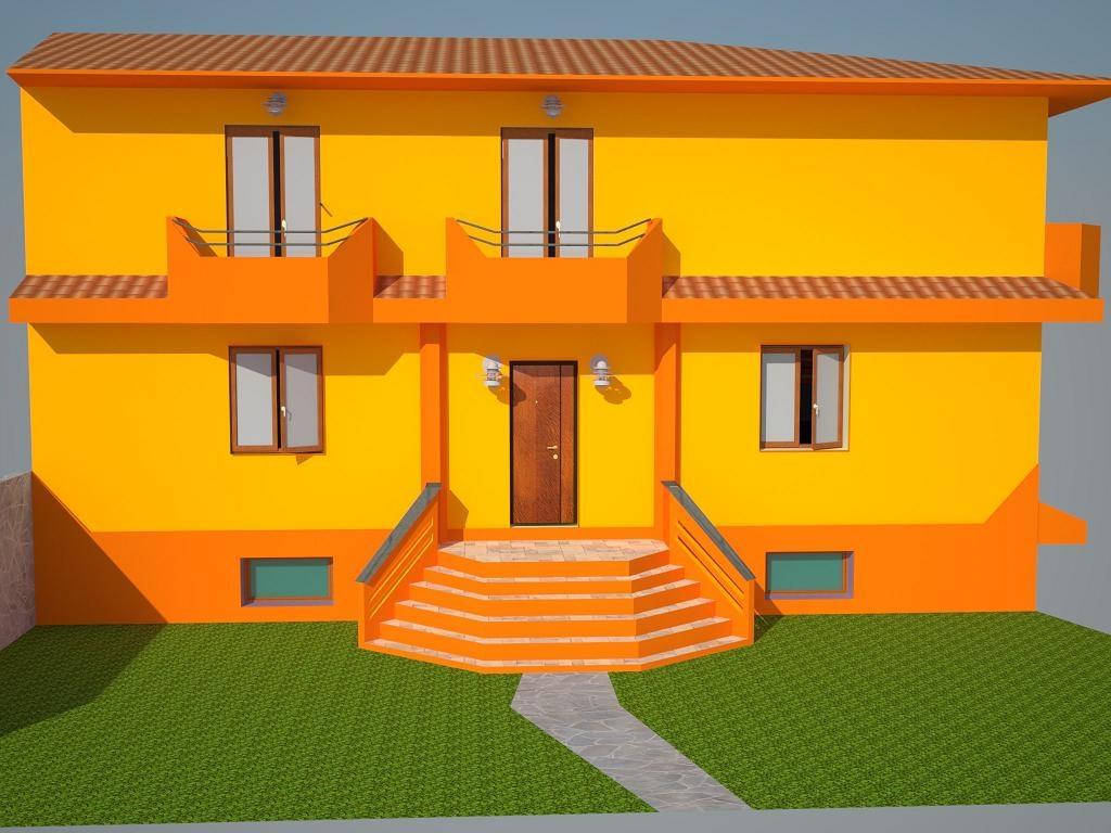 Forum cosnigli per una villetta moderna - Colori per esterni villette ...