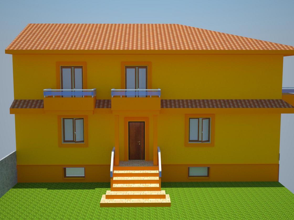 Forum cosnigli per una villetta moderna for Colori per esterni villette
