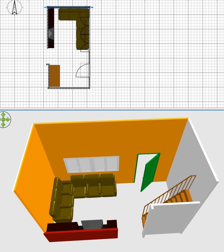 soggiorno angolare componibile: progettare soggiorno angolo bar ... - Soggiorno Angolare Componibile