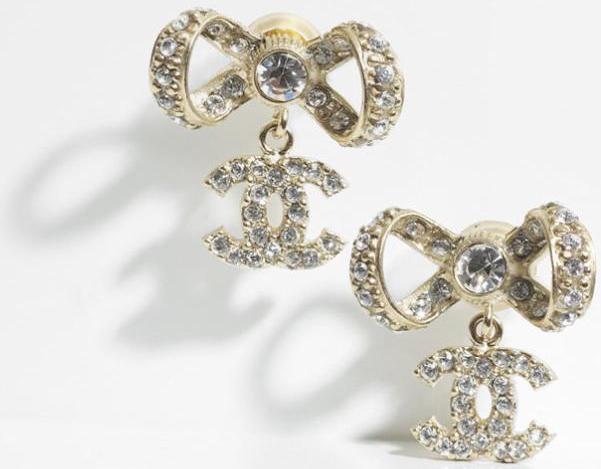 Bijoux chanel orecchini