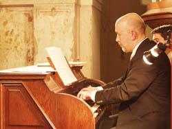 Il Maestro Vincenzo Ninci, organista