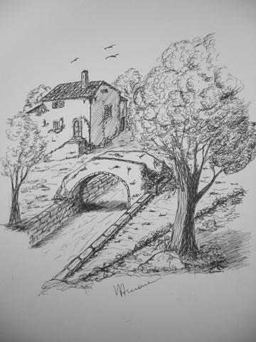 Vincenzo arnone pittore e autore di poesie dialettali for Disegni di cabina di campagna