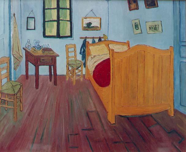 La camera da letto di van gogh jpg 44783 byte - Van gogh la camera da letto ...