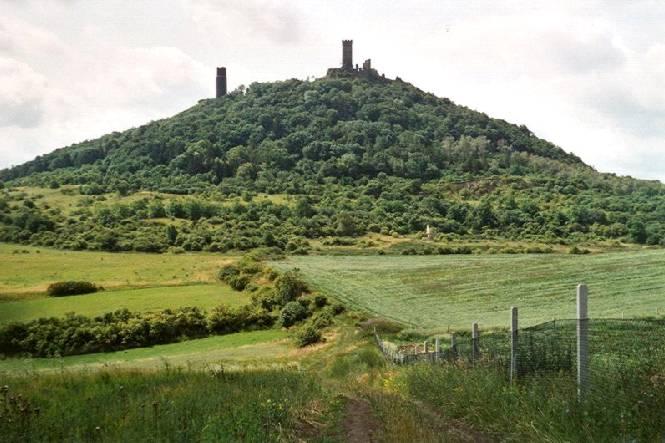 Il castello di Hasenburg tra storia e leggenda