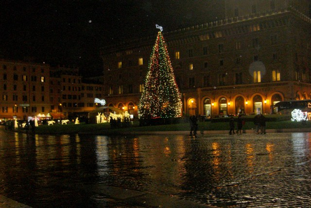 Finisco i miei post delle festività con queste foto, scattate durante una bella passeggiata in giro per Roma!