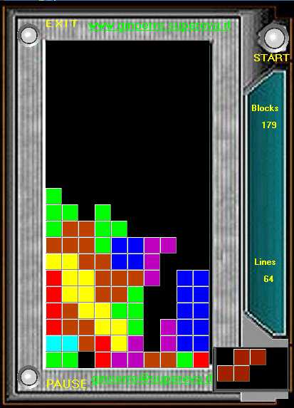 programma gioco tetris