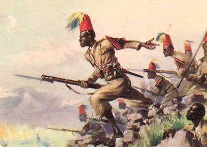XXXVII° battaglione Coloniale Eritreo.