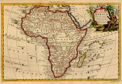 Africa Mappa 1771