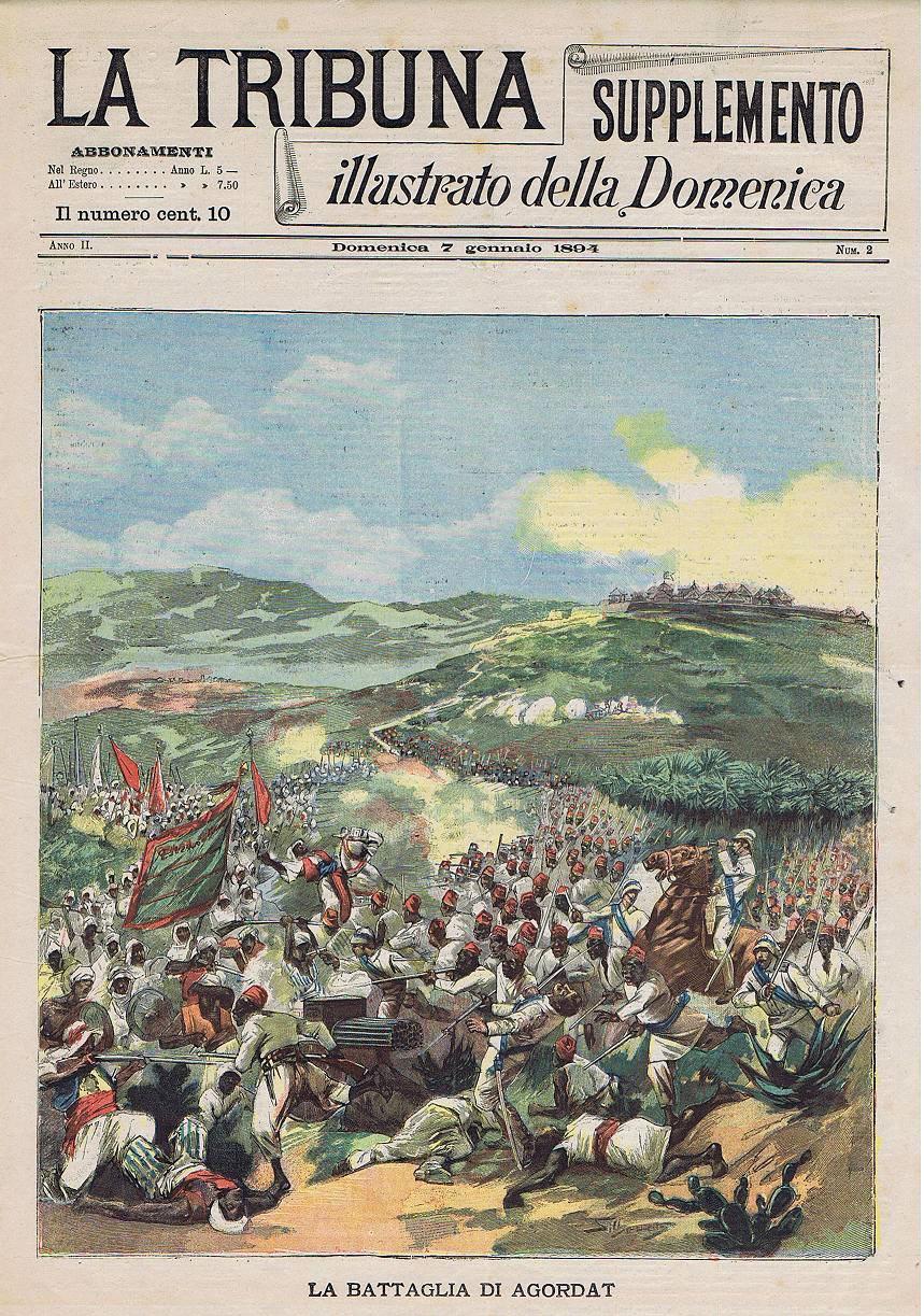 Ascari Eritrea- Battaglia di Agordat 1893
