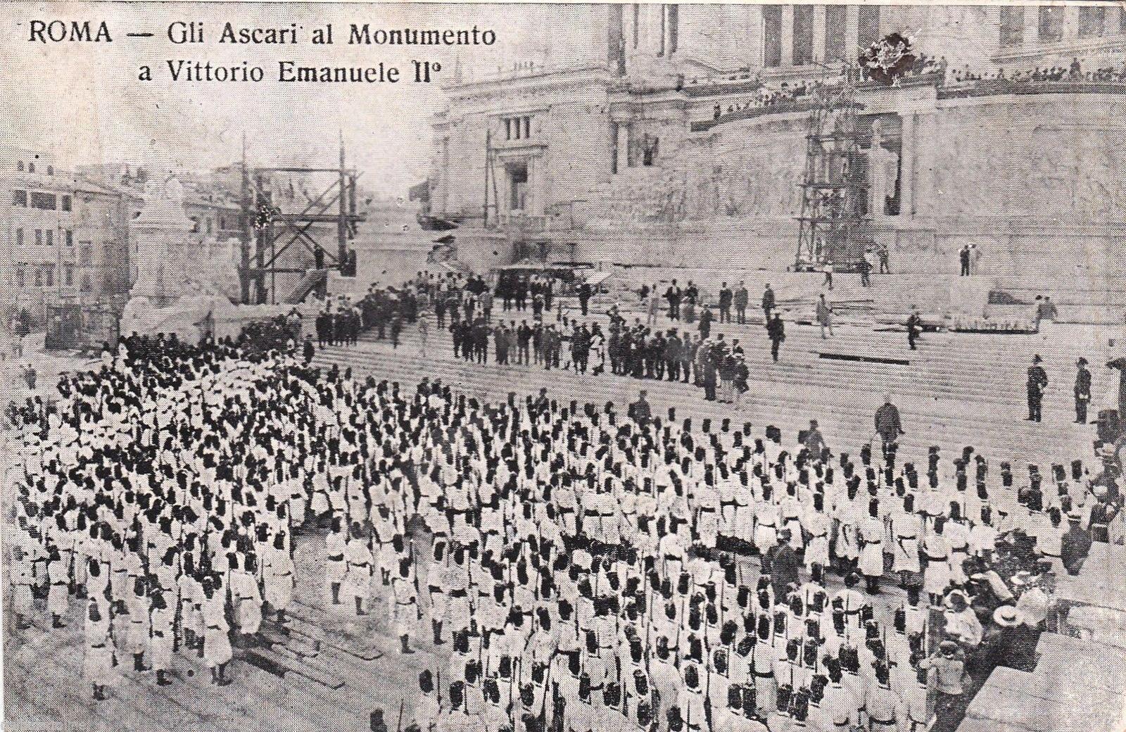Ascari Erirea Roma 1912