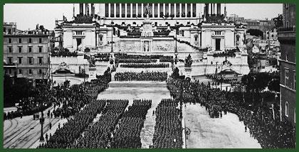 Roma Altare della Patria 1920