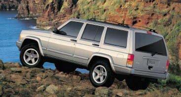 2 x Cinghia SERBATOIO DI CARBURANTE JEEP CHEROKEE XJ 1984-1996 tutti i modelli