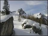 Val Cirelle quota 2200m-Col Ombert al centro