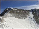 Versante N di cima Ombretola 2930m